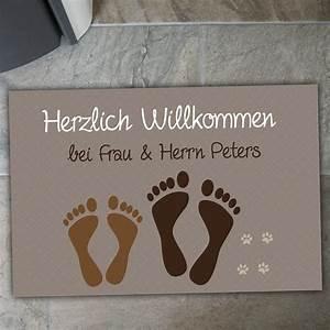 Fußmatten Auto Selbst Gestalten : personalisierte fu matte f e pfoten ~ Yasmunasinghe.com Haus und Dekorationen