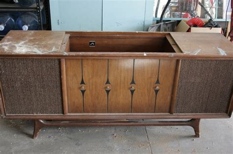 vintage stereo cabinet repurposed repurpose old stereo console repurposed stereo console