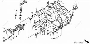 Honda Atv 2004 Oem Parts Diagram For Right Crankcase Cover