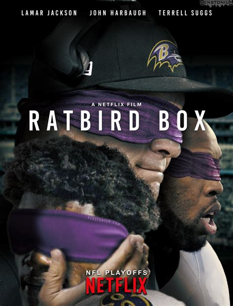 rat bird box poster ravens parody benstonium