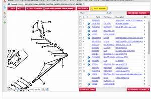 International 444 Steering Parts Diagram