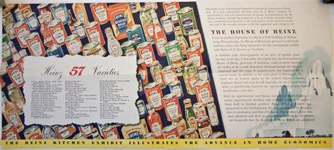 Heinz 57 Varieties   From the