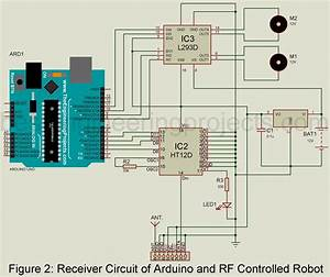Arduino And Rf Controlled Robot
