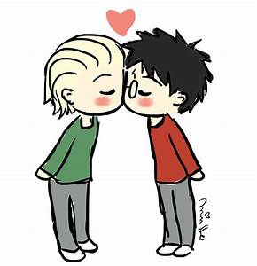 Pin by Brianna ... Drarry Cute