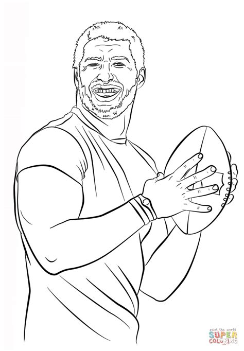coloring pages of coloring pages of tom brady coloring home