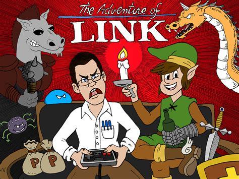 Angry Video Game Nerd Takes On Zelda Ii Zelda Universe