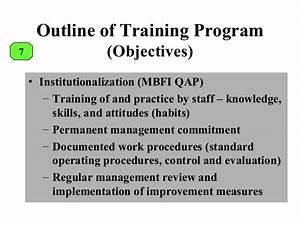 Facilitating Workshop On Quality Assurance Program For