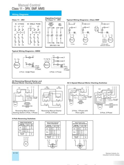 typical wiring diagrams siemens