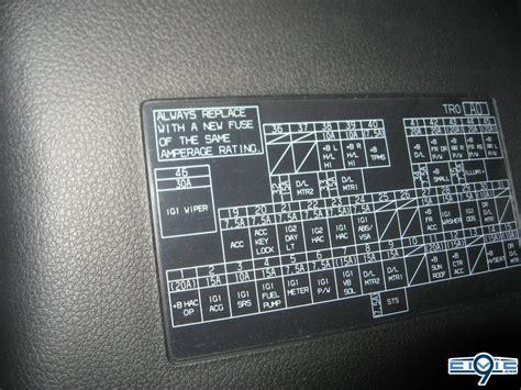 trunk light  license plate light fuse  generation
