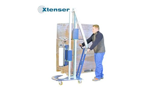 manual pallet wrapping machine xtenser sth  logismarketgb