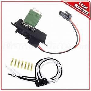 Front Blower Motor Resistor W   Wiring Harness For Chevy