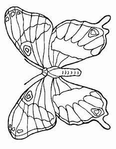 Dessin Facile Papillon : coloriage papillon imprimer gratuitement ~ Melissatoandfro.com Idées de Décoration