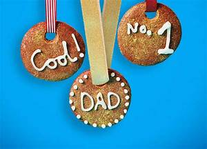 Recipe: Father's Day gold medal biscuits | Sainsbury's
