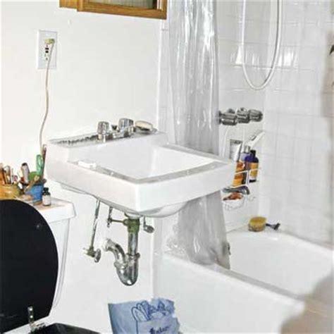 Bathroom Before Upgrade  Bathvanity Revamp  This Old House