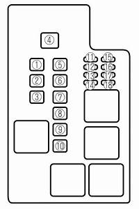 98 Mazda 626 Fuse Box Diagram