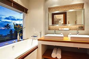 white bathroom suite interior design ideas With thai bathroom design