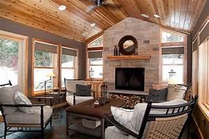 Eagan Four Season Addition - Rustic - Porch - Minneapolis