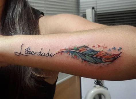 Feder Tattoos Entwürfe, Ideen Und Bedeutungen