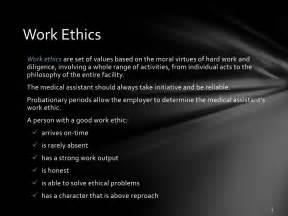 Professional Work Ethics