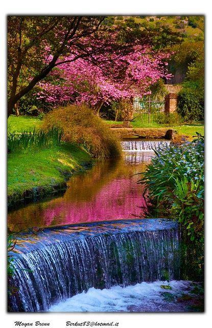 Central Garden of Ninfa Italy