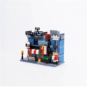 Moc 4808 Mini Modular  Corner Deli By Timeremembered With