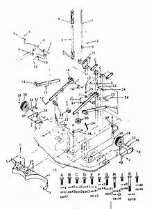 Craftsman Model 917253150 Mower Deck Genuine Parts