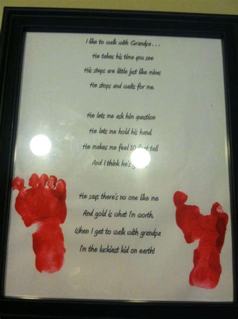 poem  foot print  grandpa  grandparents day