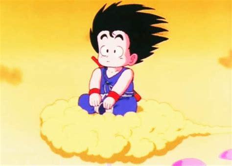 goku consigue su nube voladora  de goku