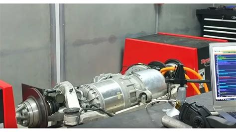 Picture Of Electric Motor by Tesla S Electric Motor Hits The Dyno As Part Of Quot Blue