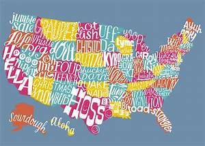 United Slang of America map: If every state had an ...