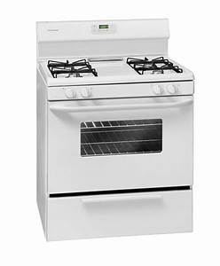 Frigidaire Ffgf3011lw Range Gas Manual Clean White At