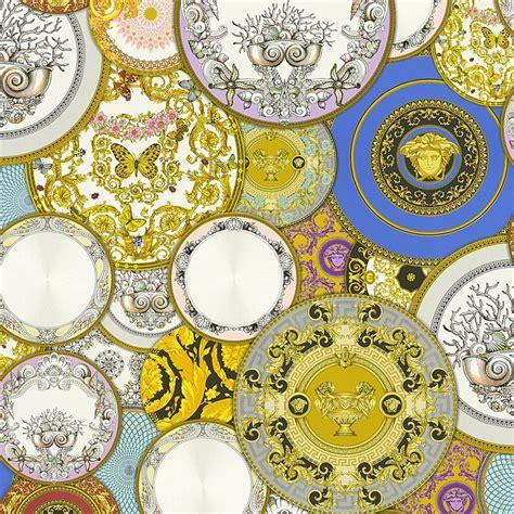 les etoiles de la mer  motif wallpaper multicoloured