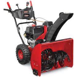 Craftsman Quiet 208cc Dual Stage Snowblower   Lawn