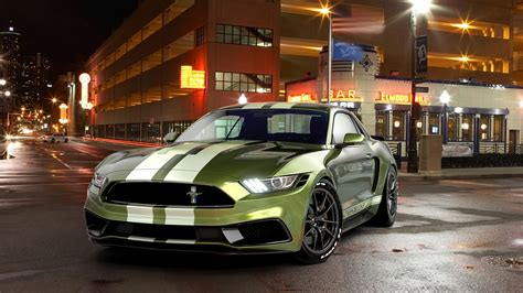 2017 Ford Mustang Notchback Design Wallpaper