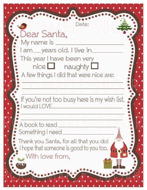 letter  santa ideas  pinterest letter