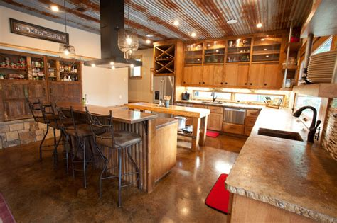 rustic modern kitchen ideas modern rustic kitchen interior design ideas