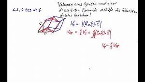 Vektorprodukt Berechnen : oberstufe vektorprodukt volumen spat und pyramide berechnen youtube ~ Themetempest.com Abrechnung