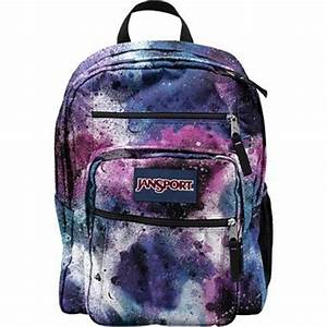JanSport Big Student Backpack in Swedish Blue Spray Can