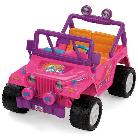 power wheels jeep 90s los mejores juguetes de barbie que todas las niñas querían
