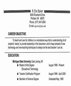 Free 7  Examples Of Career Objective Templates In Ms Word