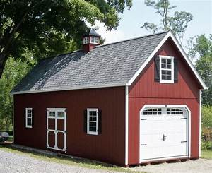 18 best two story single car garage stoltzfus structures With amish garages built on site