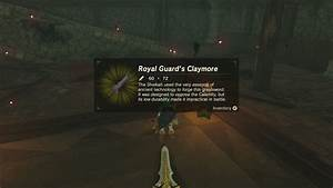 BotW Strongest Sword in the Game and More at Hyrule Castle ...