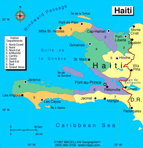 map  haiti earthquake