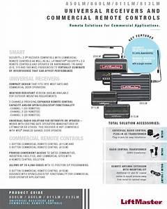 Lift Master 850lm Receiver Wiring Schematic