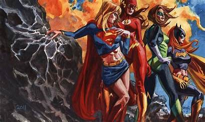 Justice League Wallpapers 52 Flash Supergirl Desktop