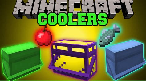 mod鑞es cuisine minecraft coolers store eat food automatically mod showcase