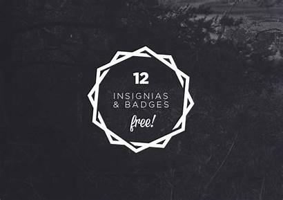 Vector Hipster Badges Psd Insignias Logos Insignia