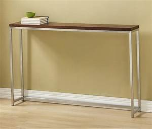 Long Entryway Table Types Home Design Wooden Long