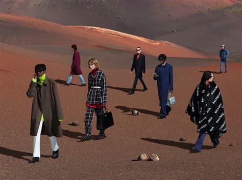 balenciaga fall campaign fashion rogue