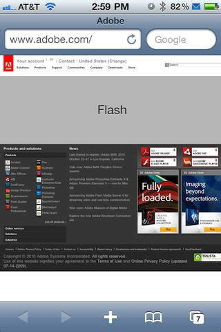 how to get adobe flash on iphone use adobe flash on your jailbroken iphone 4 in 3 easy